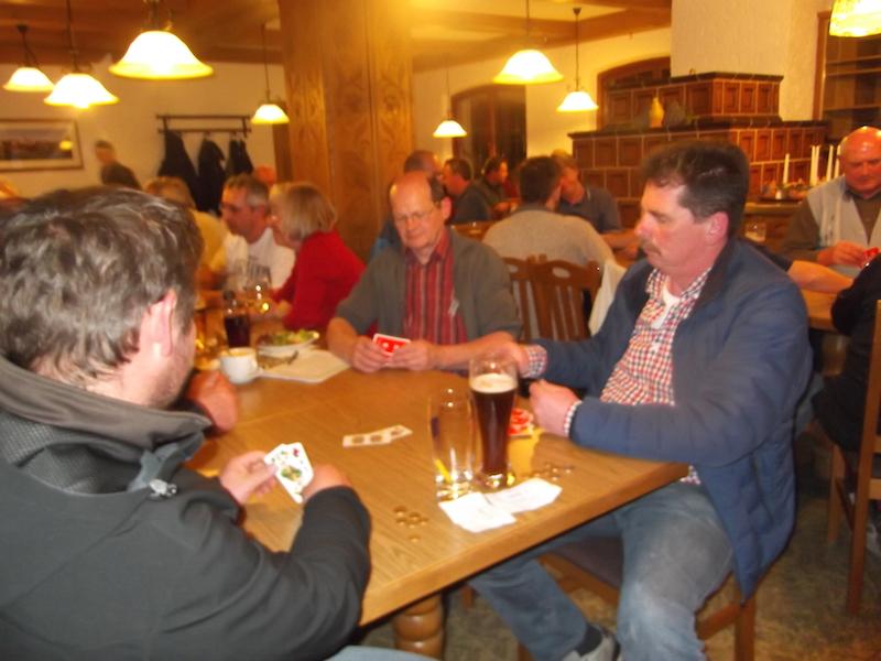 Stadtmeisterschaft im Schafkopfen 2015