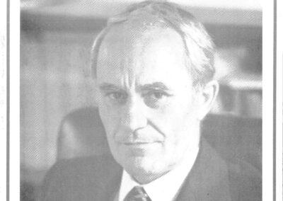 Wahlflyer 1990, Dr. Martin Geiger