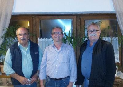 Bestplatzierte Georg Lovei, Sepp Wolmuth und Johann Mangstl