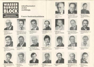 Wahlflyer Bürgermeisterkandidat , Seite 2